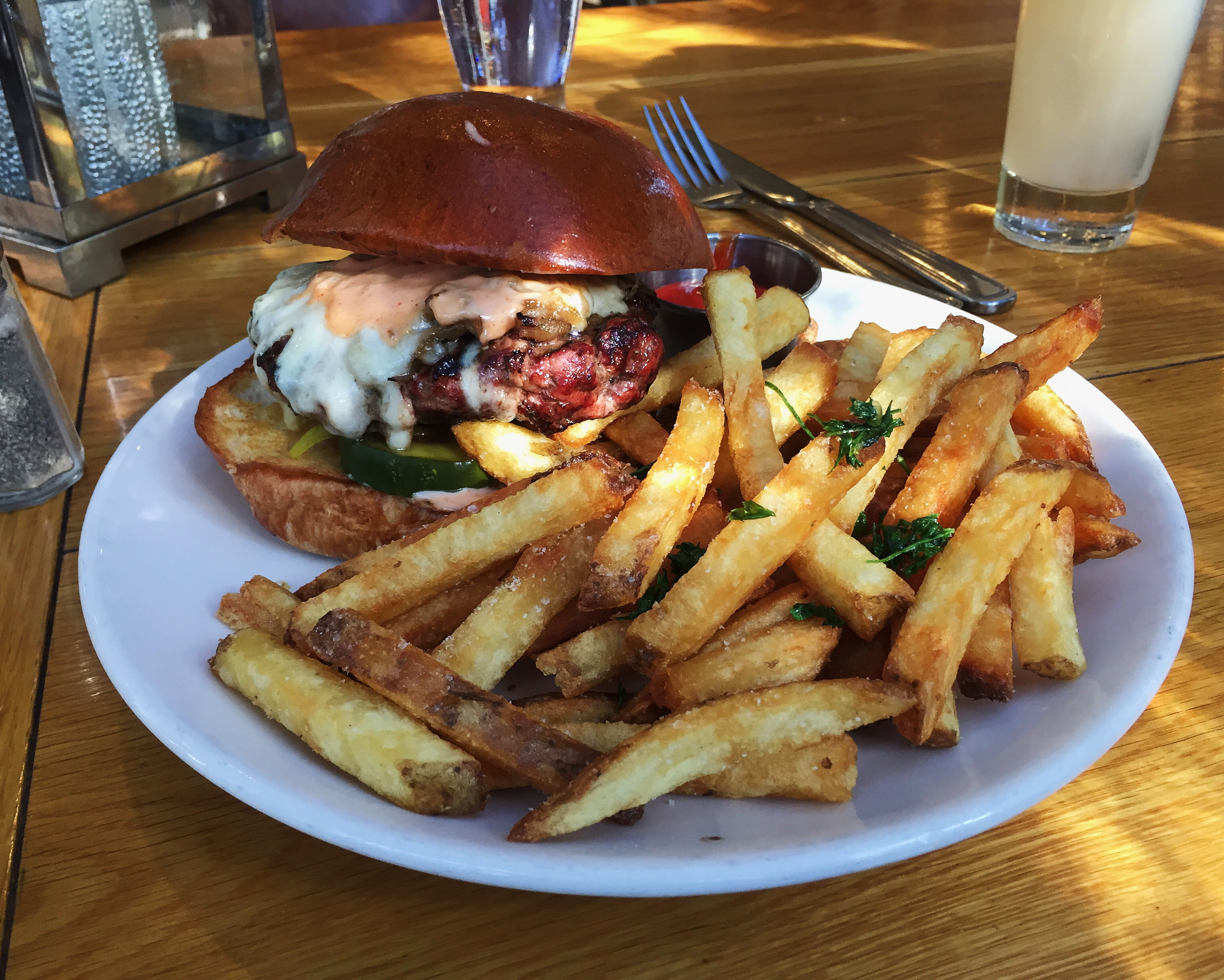 Mess Hall Mess Burger