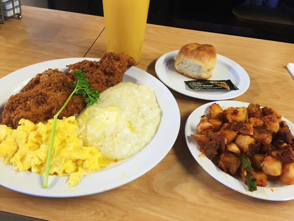 Fried Catfish Brunch from The Serving Spoon