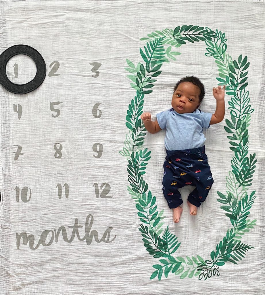 Baby Boy's First Month